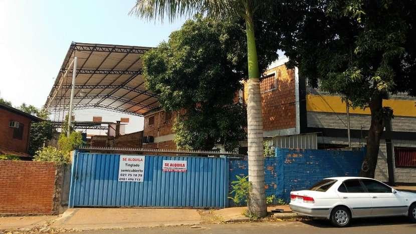 Tinglado en zona comercial Avenida Eusebio Ayala - 0