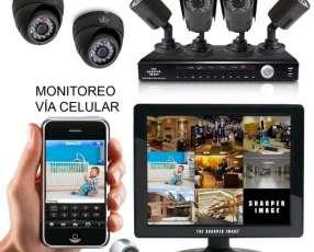 Sistema completo de cámaras de seguridad HD alta definición
