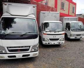 Furgones recien importado, para 3 y 4 toneladas, financiación