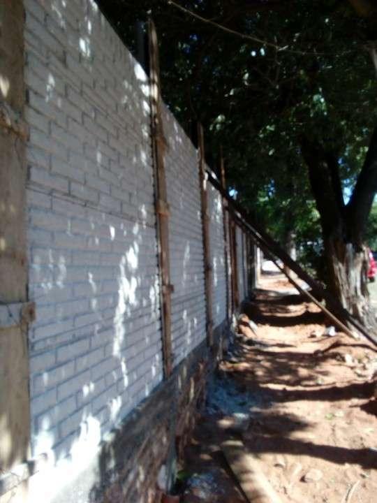 Instalación de murallas con bloques de hormigón pre moldeado - 8