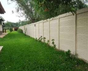Murallas de hormigón armado prefabricado