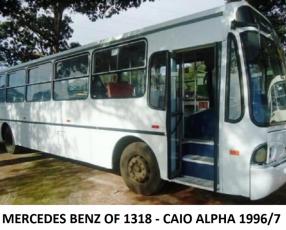 Ómnibus colectivo Mercedes Benz OF-1318