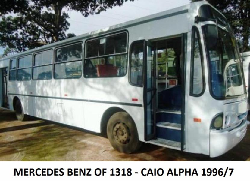 Colectivo Mercedes Benz OF-1318