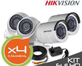 Cámaras de seguridad Hikvision HD
