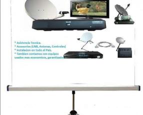 Kit satelital más de 450 canales