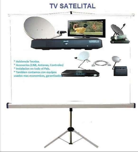 Kit satelital más de 450 canales - 0