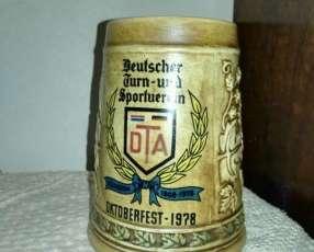 Manija de chopp antigua-fiesta de la cerveza del club aleman