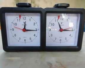 Reloj Analogico de Ajedrez