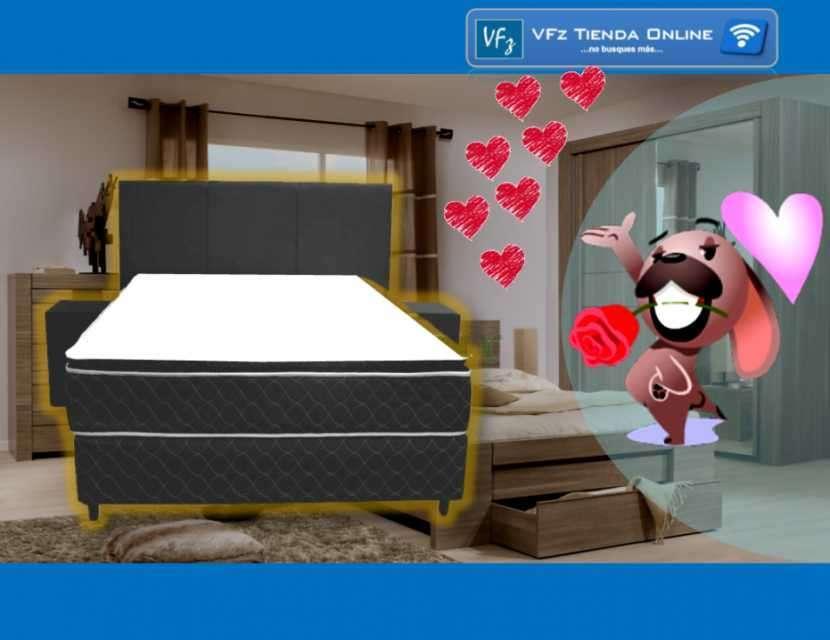 Somier Koala Pillow Top (PT) 1,40 x 1,90 Matrimonial - 0
