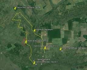 Campo de 122 hectáreas
