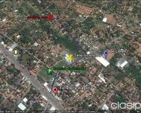Terrenos en Mariano Roque Alonso barrio Universo
