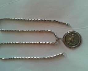 Cadena y pulsera de plata