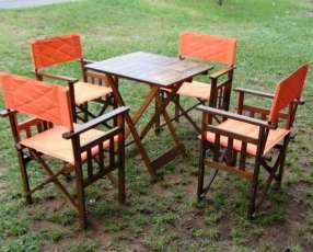 Juego de muebles para jardín