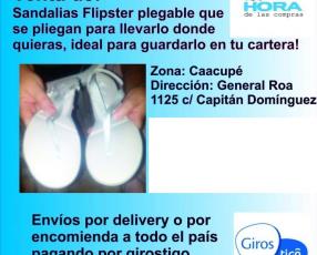 Sandalias Flipsters nuevo de la hora de las compras