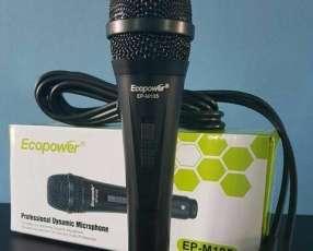 Micrófono Ecopower Nuevo
