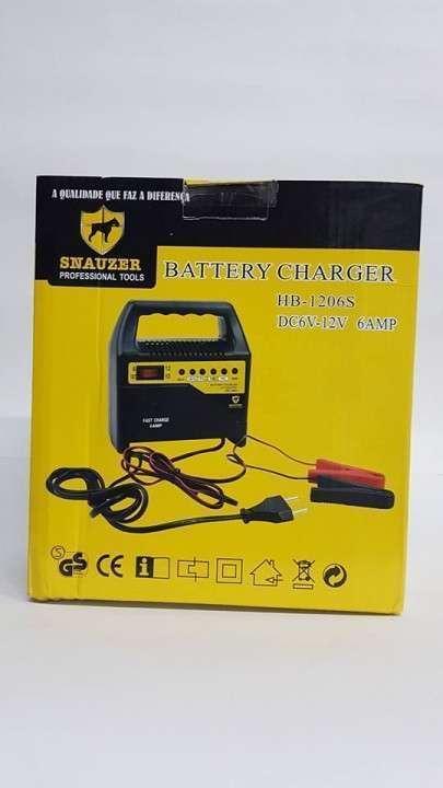 Cargador de bateria para autos y motos - 1