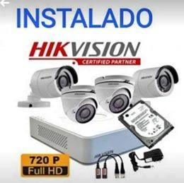 Camaras de seguridad hikvision ful hd 1080 p