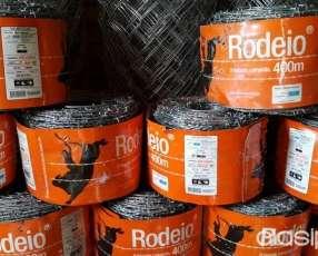 Rollos de alambre de puas 400 metros brasilero 1ra calidad