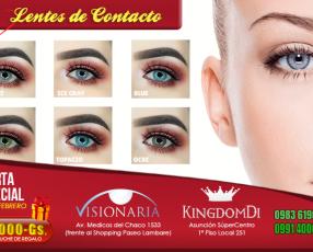 Lentes de Contacto Nuevos Colores ULTRA NATURALES!!