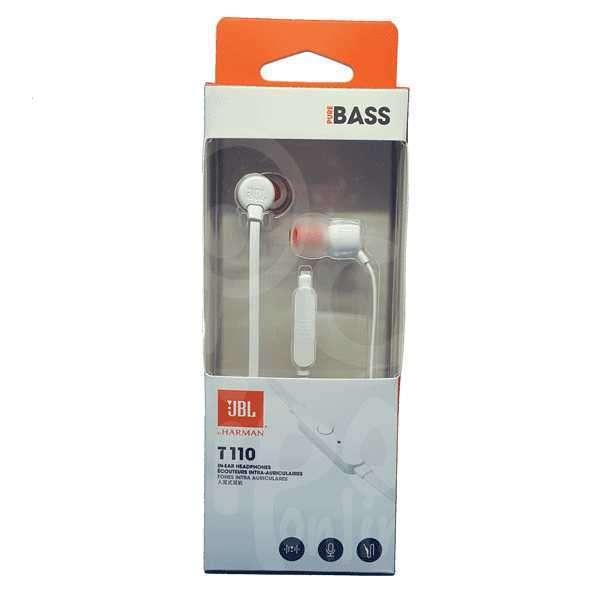 Audífono estéreo In-Ear JBL T110 - 1