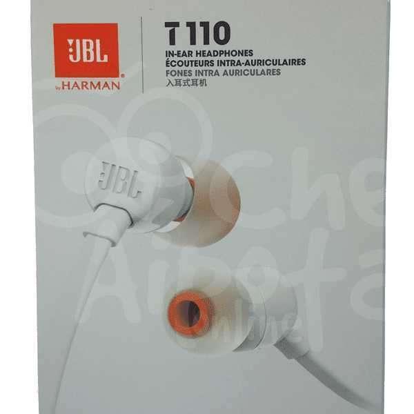 Audífono estéreo In-Ear JBL T110 - 0