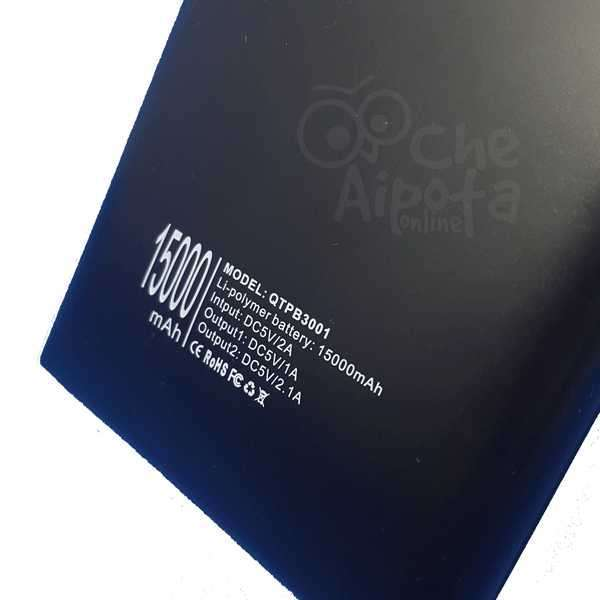 Cargador portátil de 15.000 mAh Quanta QTPB3001 - 1