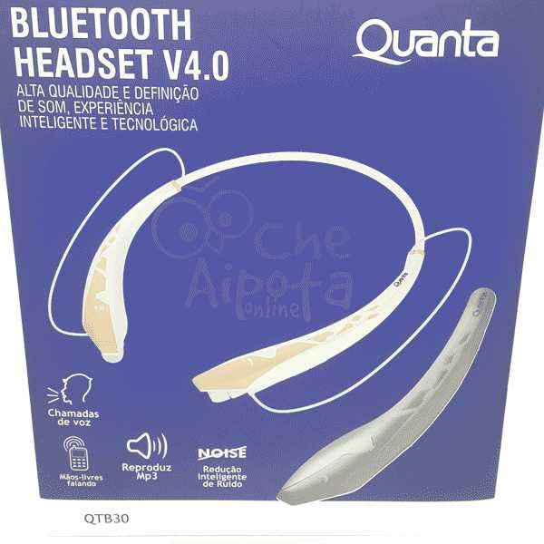 Audífonos Estéreo Bluetooth Quanta QTB30 - 0