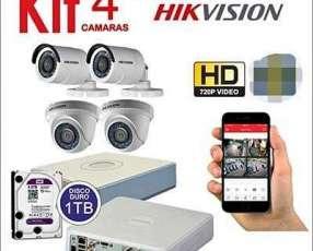 Cámaras de seguridad HD 1080 full instalado