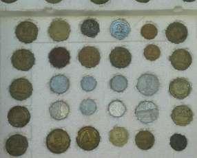 Lote de monedas antigüas