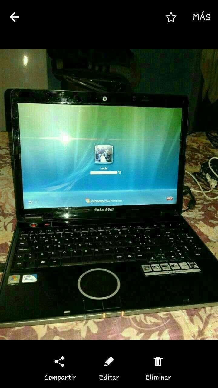 Notebook Packard Bell 17pulgadas