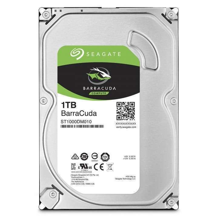 Disco duro interno Seagate de 1 tb - 0
