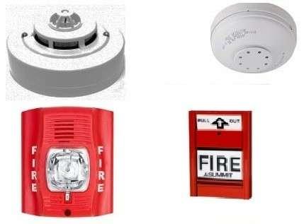 PCI protección contra incendios detectores de humo calor - 1