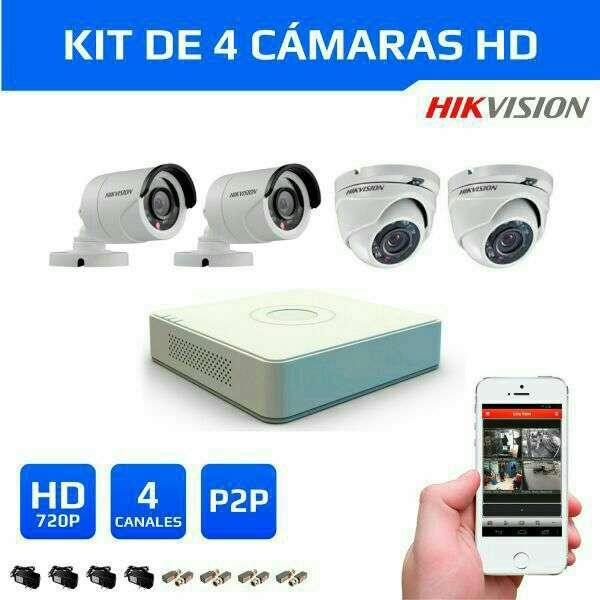 Kit de cámaras de seguridad Hikvision