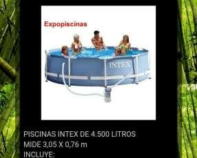 Piscinas Intex de 4.500 litros con filtro