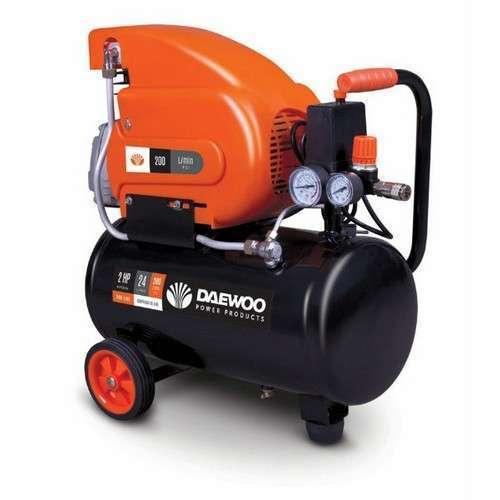 Compresor de aire Daewoo 24L 115 psi 2HP