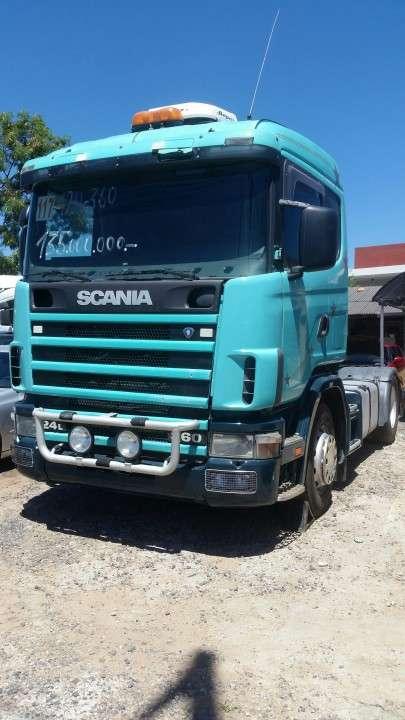 Scania 124 360 1998 con toma de fuerza e hidráulico