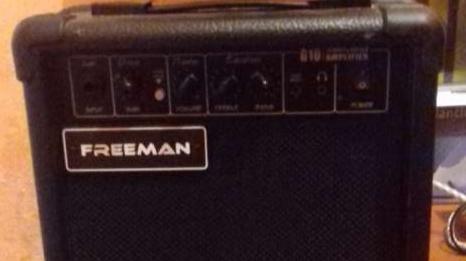 Amplificador Freeman para guitarra