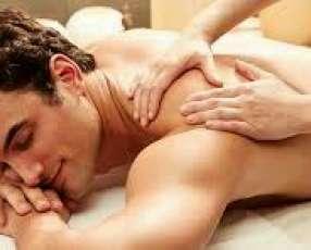Masaje descontracturante para caballeros