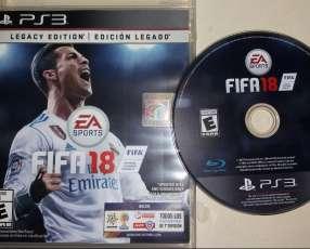 Fifa 18 y Pes 2015 para PS3