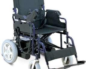 Silla de ruedas motorizada plegable