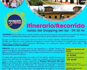 A Pirayú con Asunción City Tour