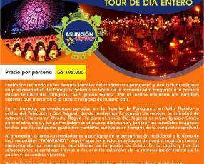 Tour a Tañarandy con Asunción City Tour