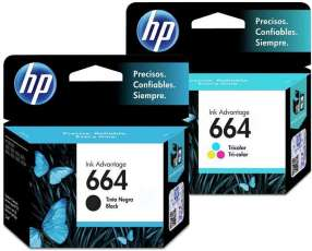 Tintas HP 664 originales