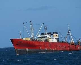 Buque pesquero bandera de Mercosur
