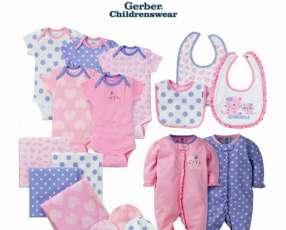 Ropa de Bebé de la Marca Gerber 19 piezas