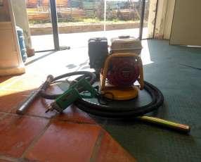 Vibradores de hormigón y hormigoneras