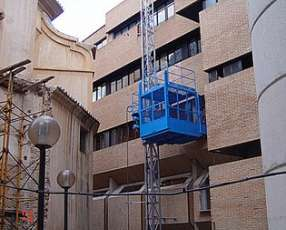 Montacargas de obra y elevador de personal