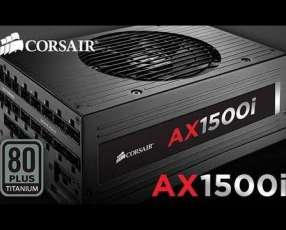 Fuente/PowrSupplyCorsair Series AXI, AX1500I, 1500 watts 80+