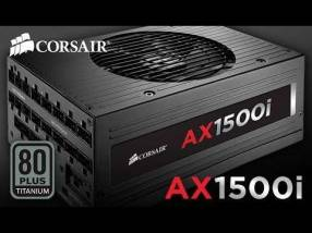Fuente Power Supply Corsair Series AX, AX1500I 1500 watts 80+