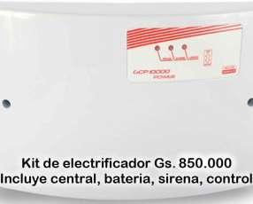Electrificador Central para cerco electrico